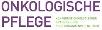 """Logo der Zeitschrift """"Onkologische Pflege"""" der KOK"""